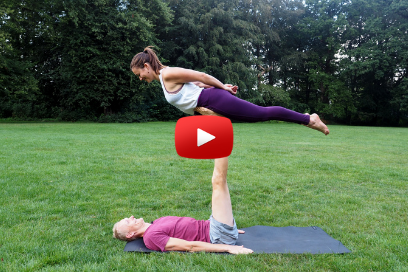 Acroyoga for Beginners – Bird (1:9)